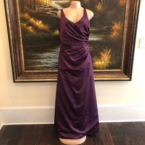 DaVinci Purple Bridesmaid Dress Size 14